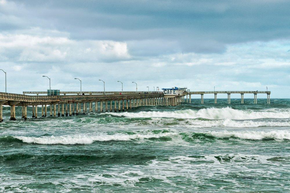 Stormy Seas - San Diego