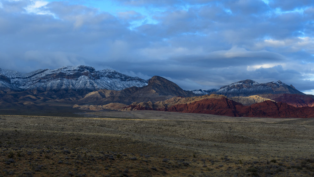 Redrock Canyon Winter