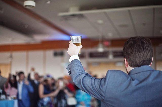 Best Man toast, Farmer-Meek Wedding, April 2018