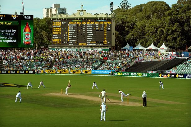 Adelaide Oval NYE Cricket -