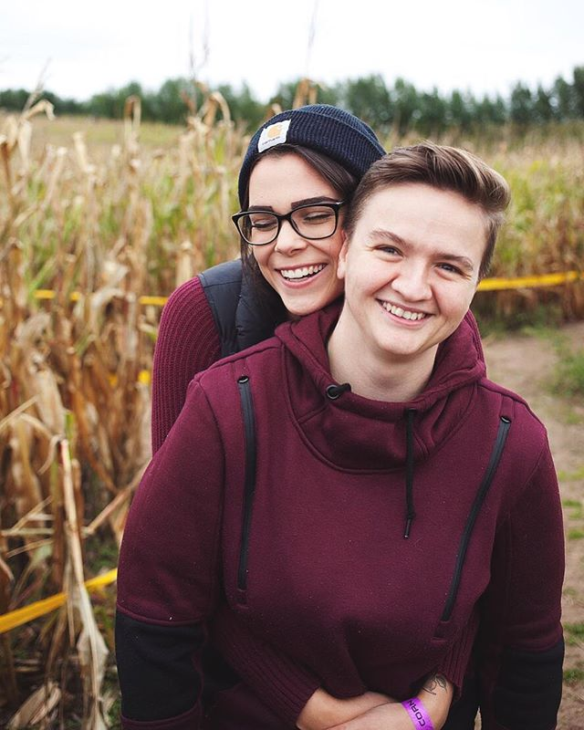 Things have been quiet for a while because I made a big move! I live in Michigan now, just outside of Traverse City. I'm doing youth work full time, which leaves a lot less time for photography, but I love my work and I love my new job! Here's a snap of my sweet friends @casey_enos & @ronidunnells when we got lost in a corn maze the other week 💕🌾🍂