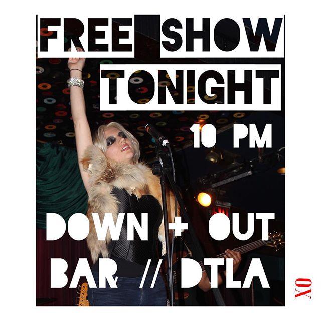 Tonight in LA