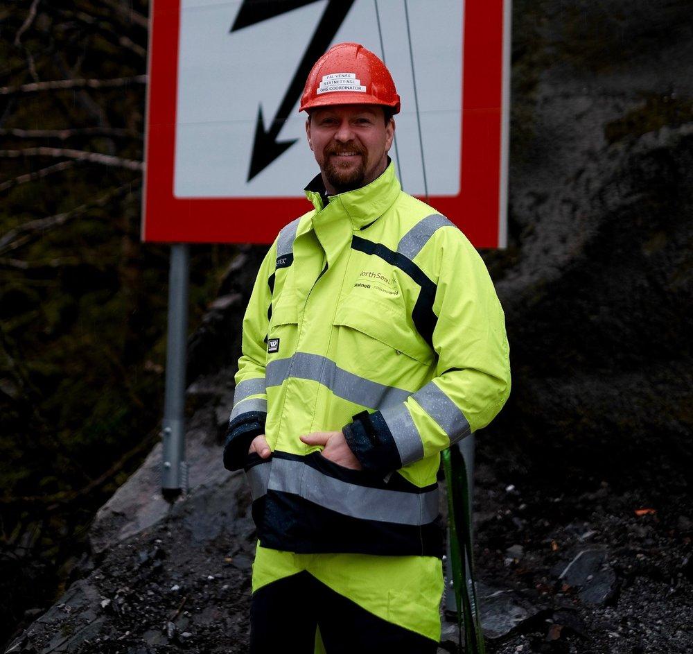 Pål Venås, SHA-Koordinator i Statnett på NSL prosjektet