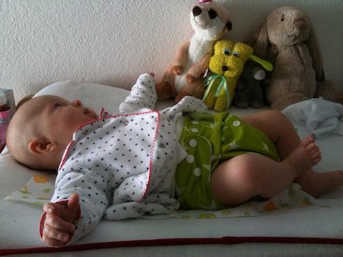 J'ai adoré les boutons ajustables et mon bébé aime les porter et les choisir! - Frauke, Allemagne