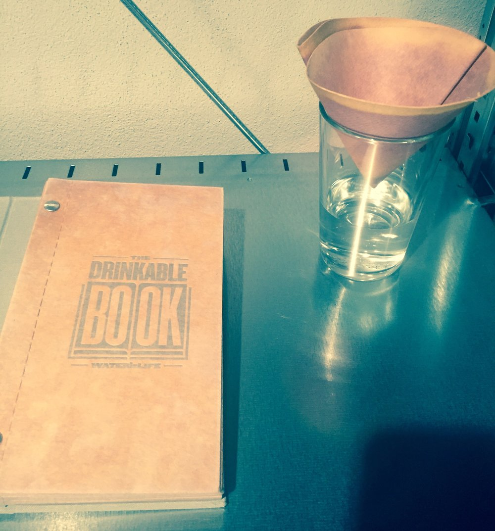 The Drinkable Book:  Theresa Dankovich
