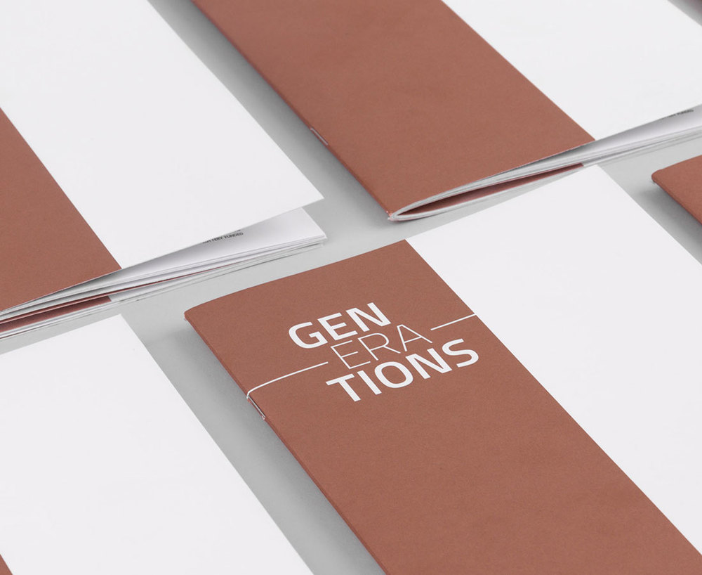 Generations Booklet
