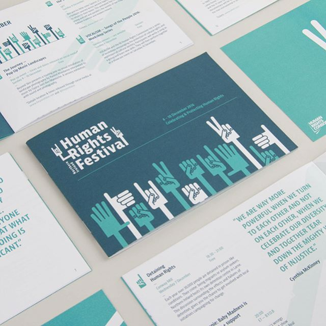 Human Rights Festival 2016 booklet - #type #typography #design #graphic #graphicdesign #minimalism #minimal #minimalist #vscocam #vsco #booklet #programme #belfast #festival #humanrights #branding #identity #identitydesign #vectorillustration