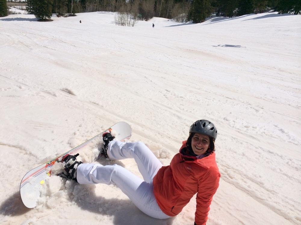 Snowboarding in Aspen