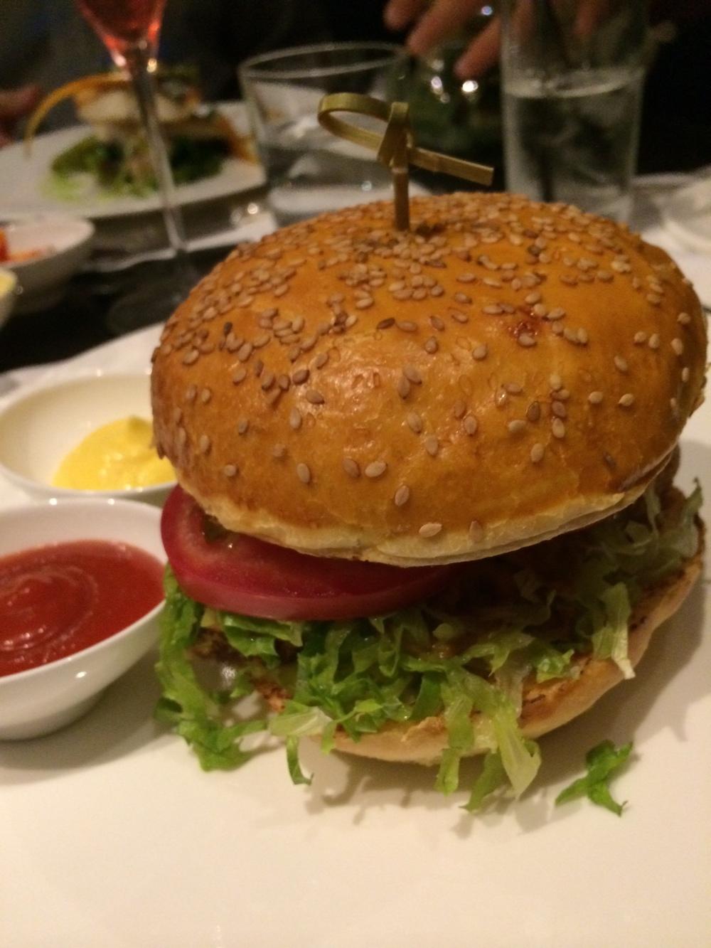 JK Rome's Tuna Burger