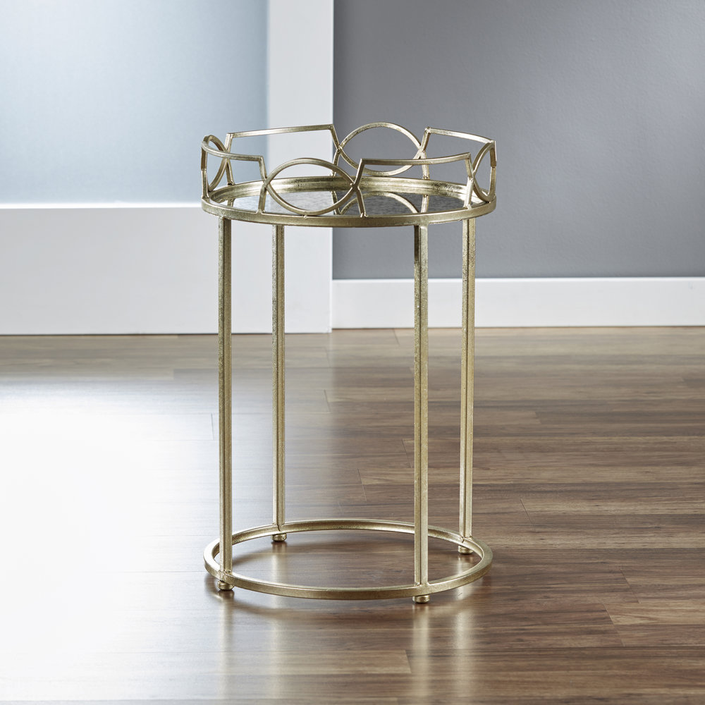 Lattice Edge Side Table