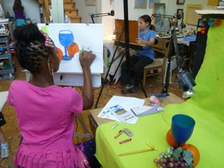 WINTER ART CLASSES FOR CHILDREN AND TEENS