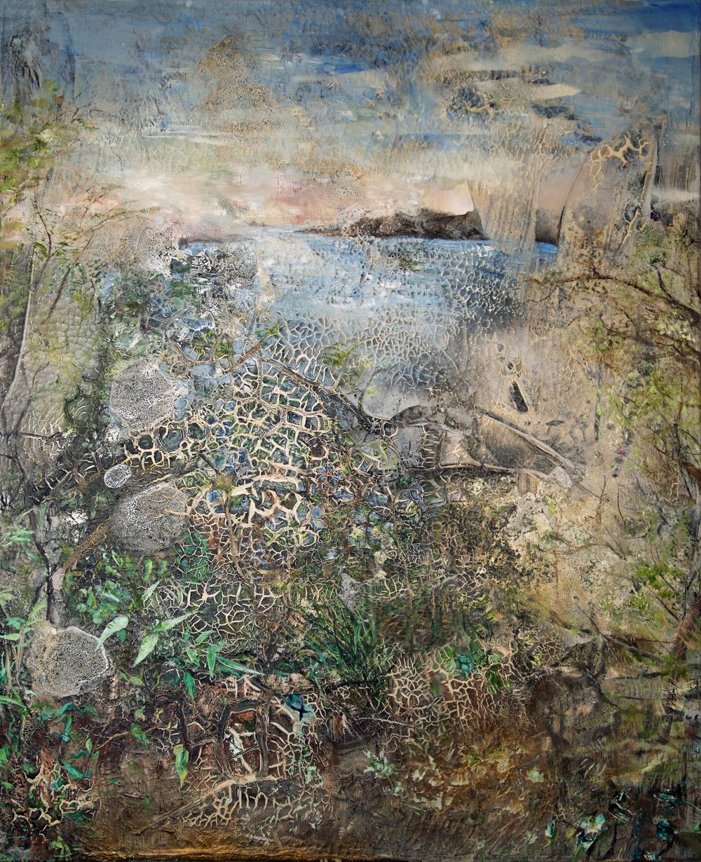 """Passage Peak"" - Oils on canvas - 150cm x 120cm"