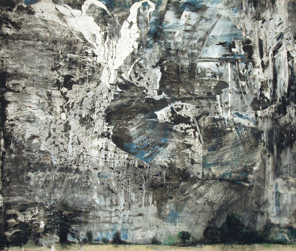 'Apocalypse' -Oil and acrylic on canvas - 142cm x 162cm