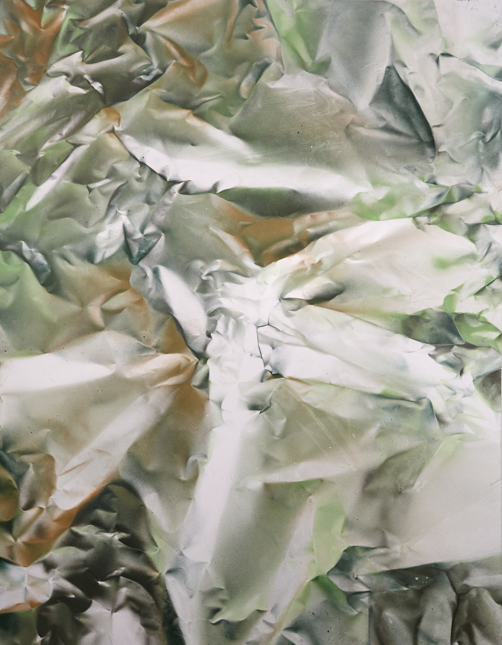 'Terra abstract N° 3' - Aerosol on canvas -134cm x 105cm