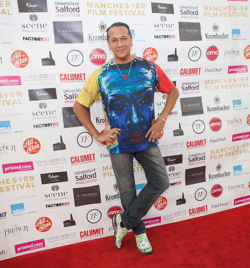 The amazing Paulo looking cool and relaxed for the UK premiere of 'Gazelle - The Love Issue'.