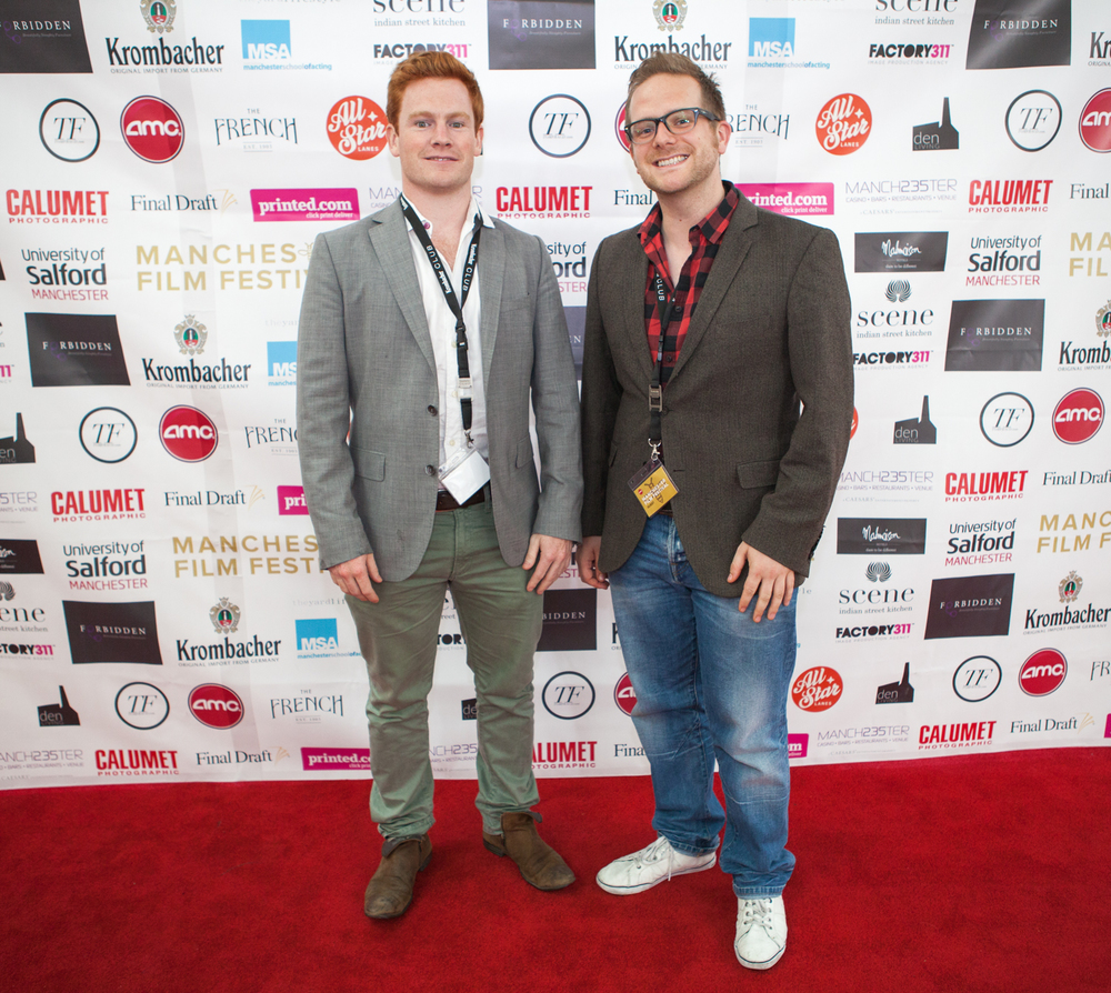 'The Split' director Ed Rigg shares the red carpet with Adam Zed