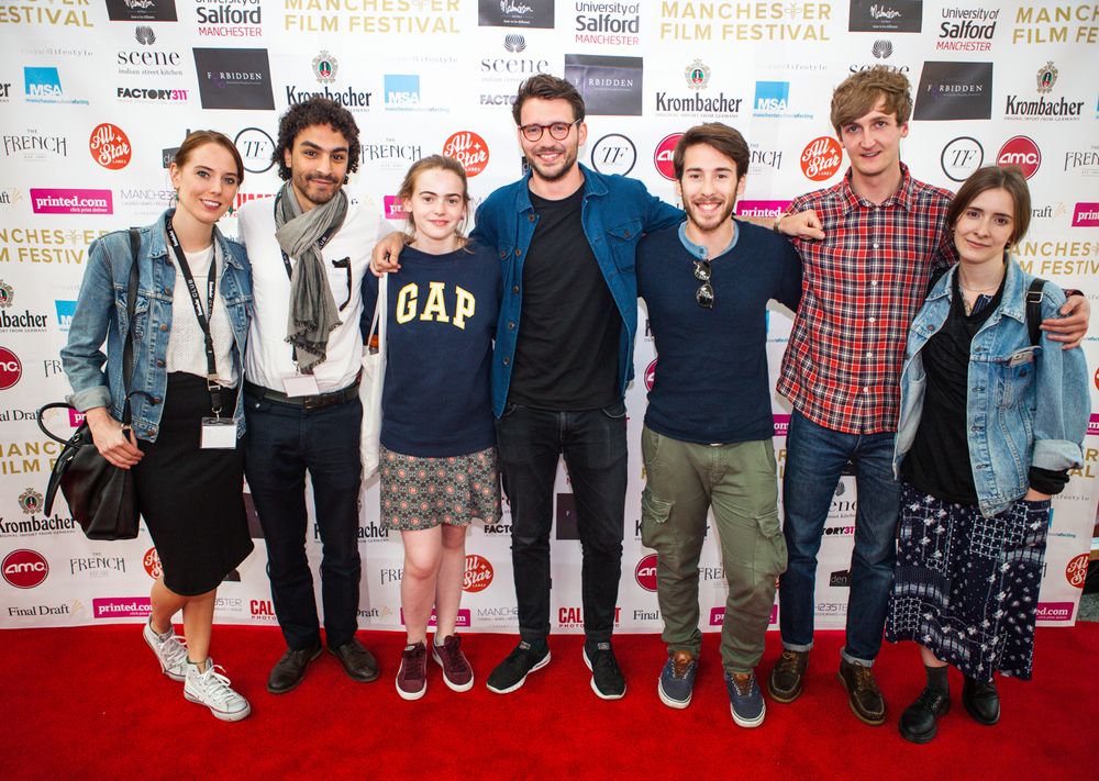 The amazing team behind the equally brilliant 'Dark was the Night' which took away the best student film award.