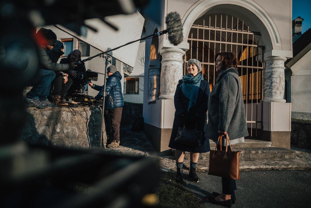 'Reka ljubezni' season 2 (2018)    Production: Perfo    Directors: Nejc Levstik, Jaka Suligoj, Niko Vodosek    DOP: Maks Susnik, Peter Prevec     Marinka Stern (Tereza) and Marijana Brecelj (Marija)