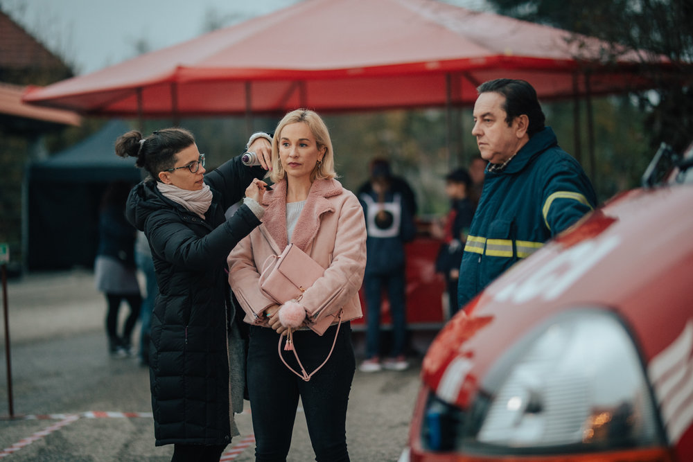 HMU Anita Fercak, Nina Ivanic (Mojca), Renato Jencek (Franc)
