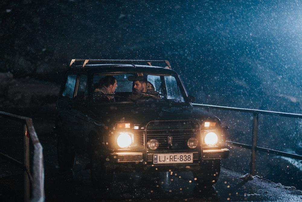 'Reka ljubezni' season 2 (2018)    Production: Perfo    Director: Niko Vodusek    DOP: Peter Prevec    In frame: Sara Gorse, Tadej Pisek