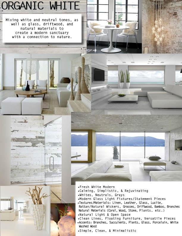 Organic Modern White