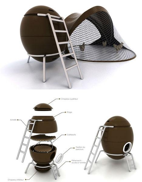 Mod Chicken Coop