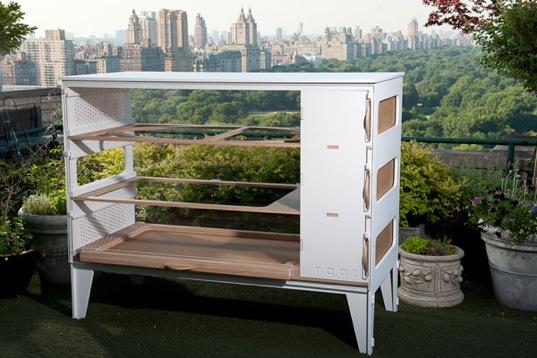 Solar chicken coop