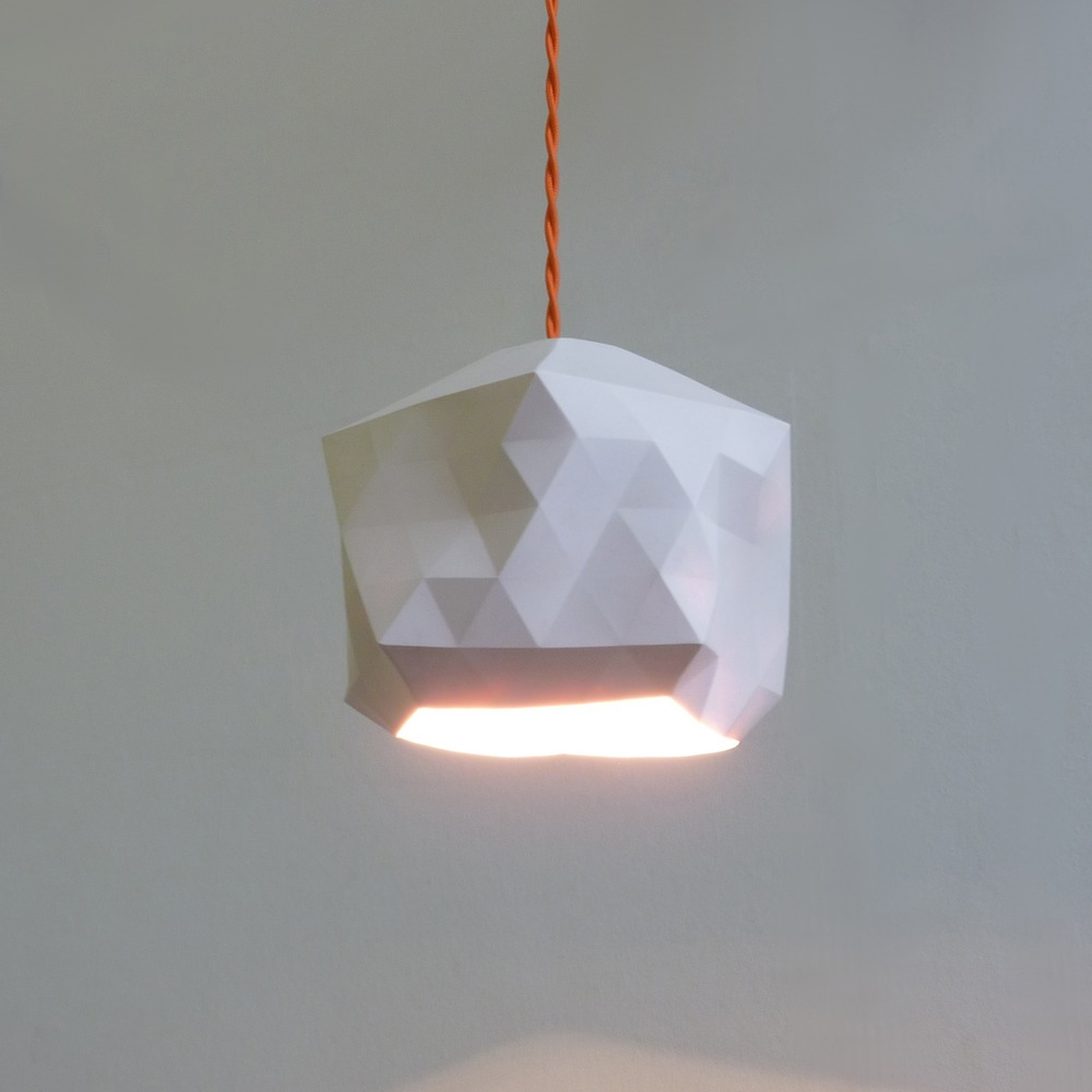 White geo light