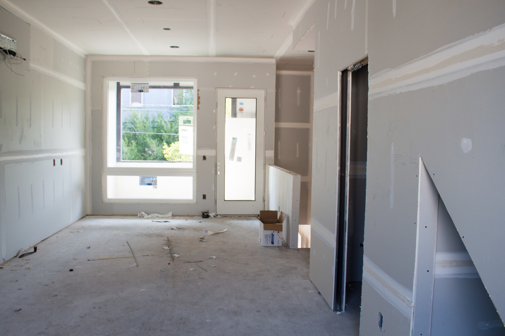 Rogue Townhomes Interior Progress