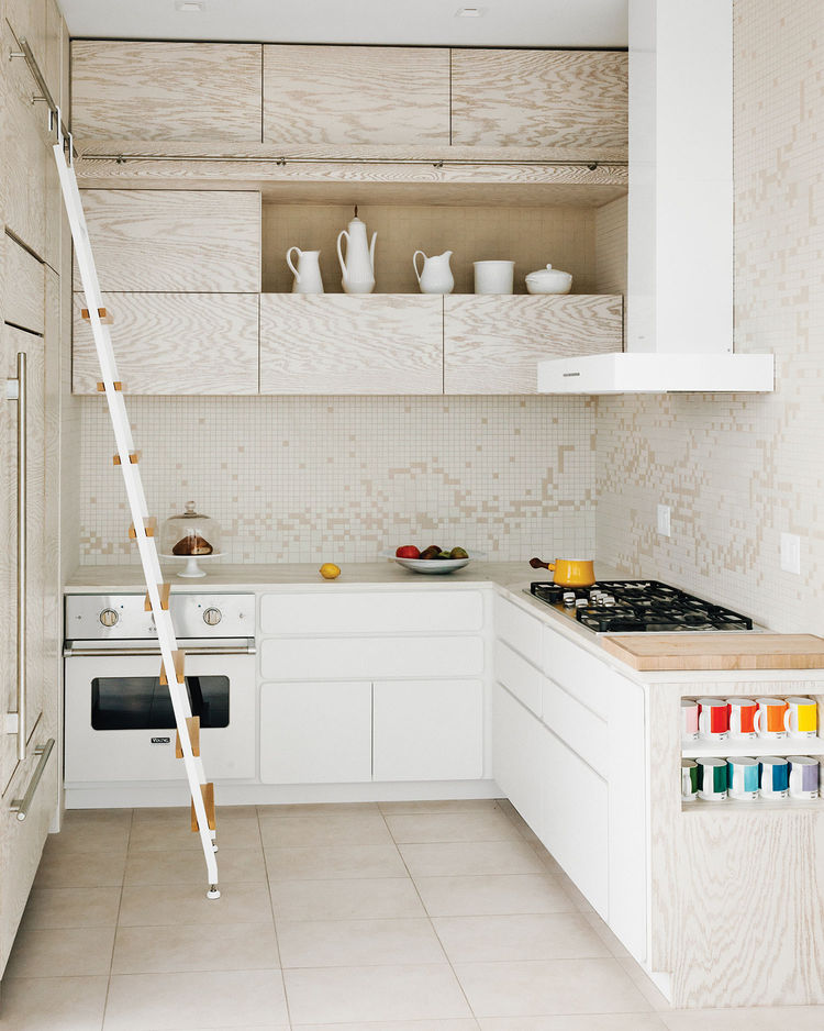 Arctic White backsplash