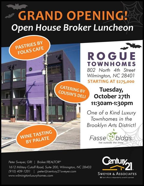 Rogue Townhomes Open House