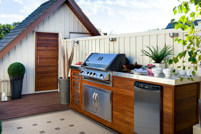 grilling station