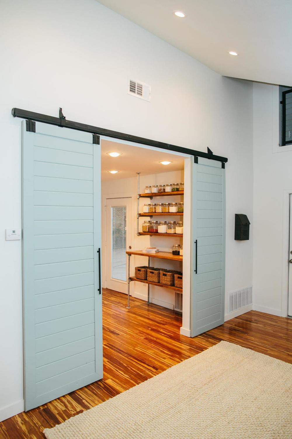 Transitional Barn Door System