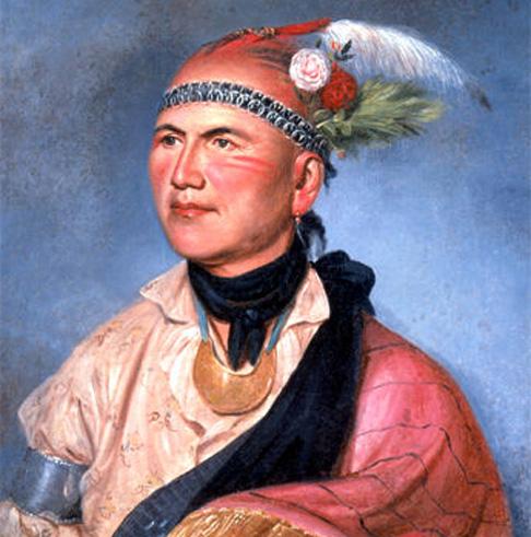 Joseph Brant, retrato de Charles Willson Peale (1797)