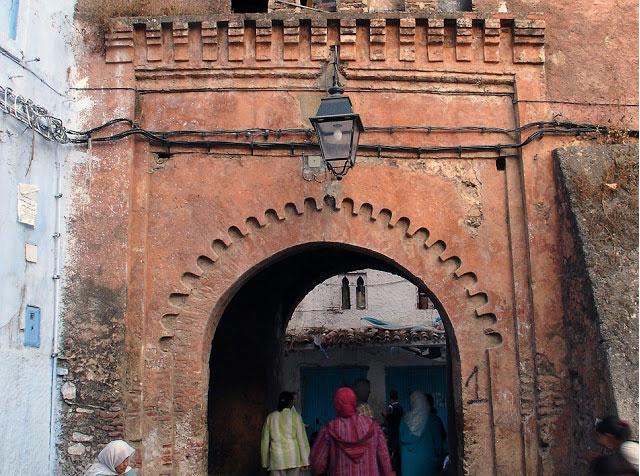 Una de las puertas de la Medina. Bab el Suk   FOTO FGZ