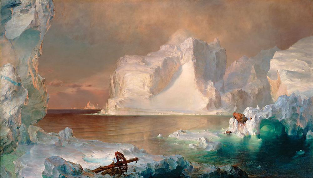Los Icebergs de Frederic Edwin Church, 1861.