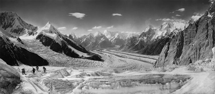 Fotografía del Karakorum de Vittorio Sella
