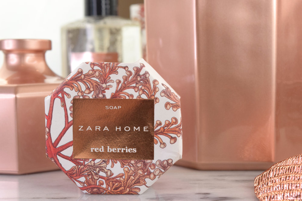 Lifestyle Zara Home Red Berries Collection Cara Scott Cosmetics