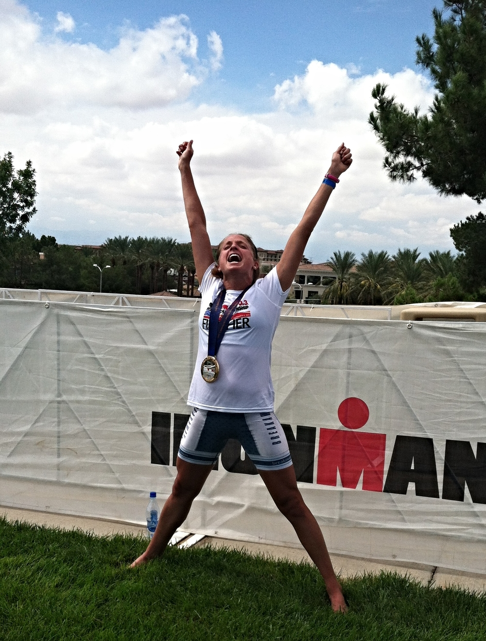 Celebrating a Sweet Victory at the 2013 Ironman 70.3 World Championships