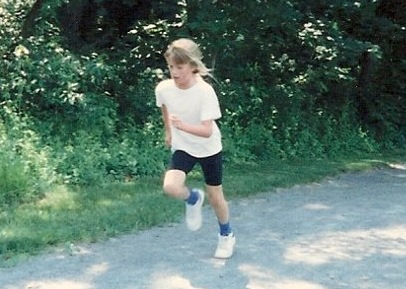 The early years of my running career.