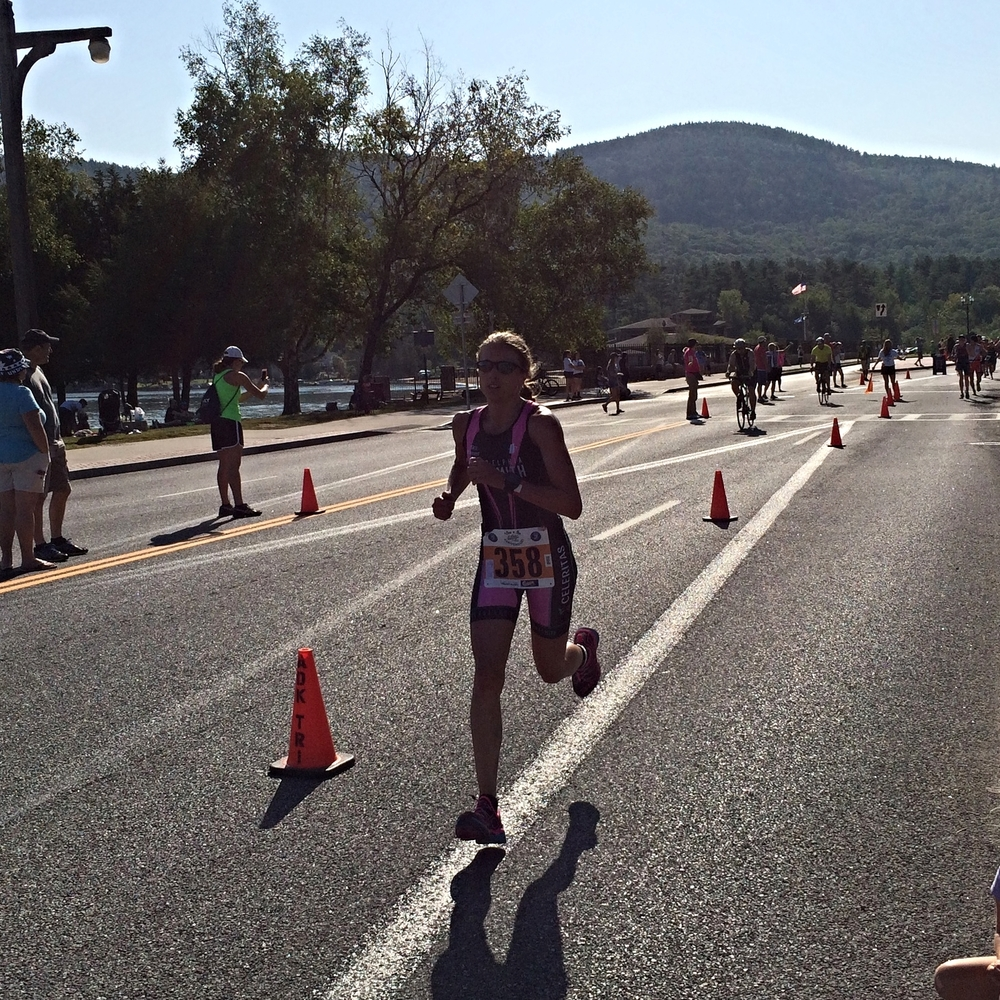 Finishing the run strong.
