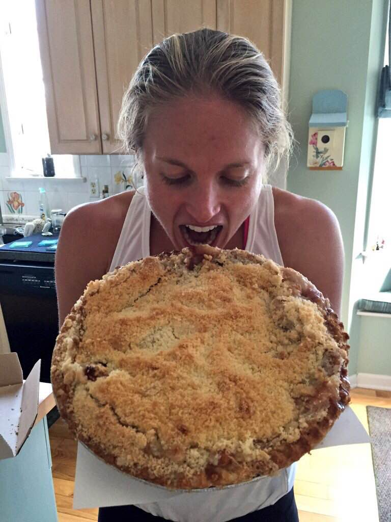 Sweet Victory! Now imma gonna eat that apple crumb pie.