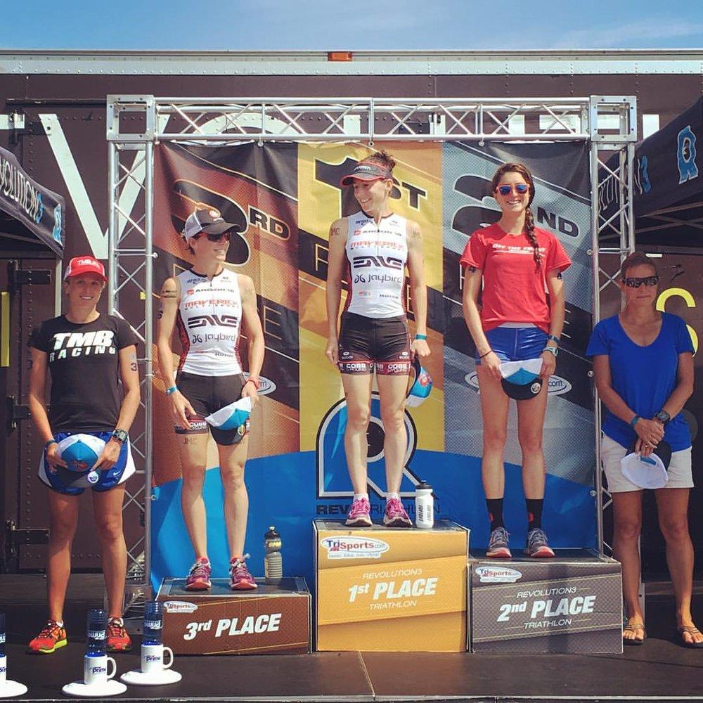 The podium!