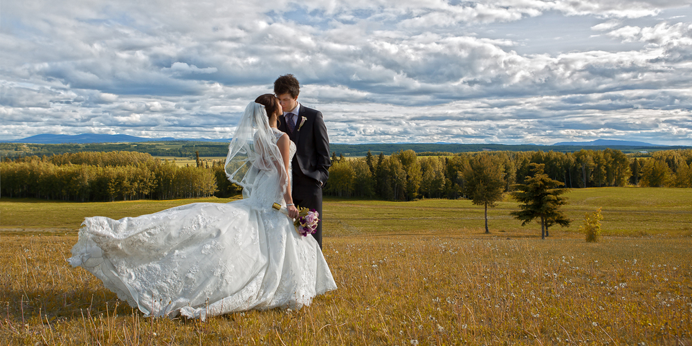 Wedding Photography, Vanderhoof, BC, WillowBee Photo Art