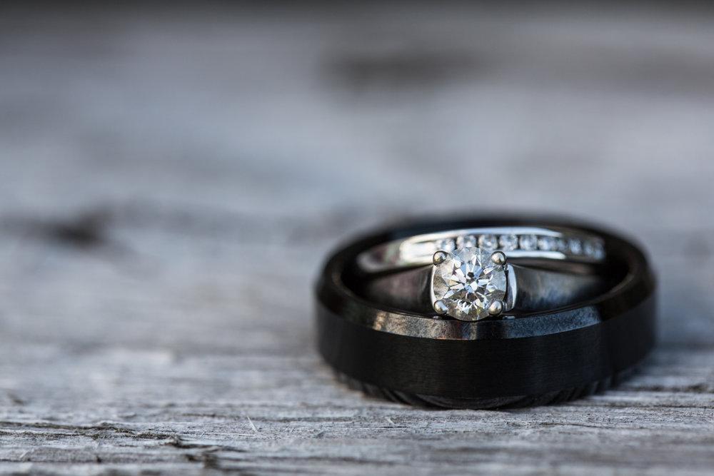 WillowBee Photo Wedding ring
