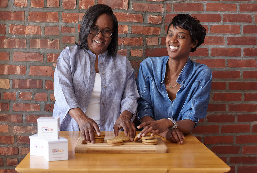 Founder & Head Baker Carol Emeruwa & her daughter Erika
