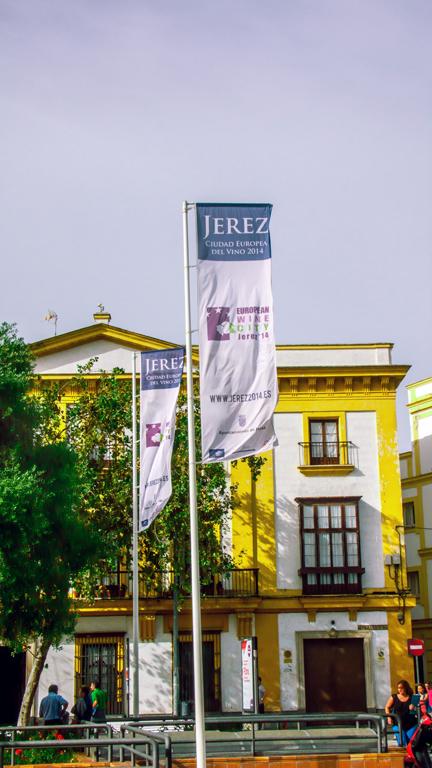 Banderolas Jerez