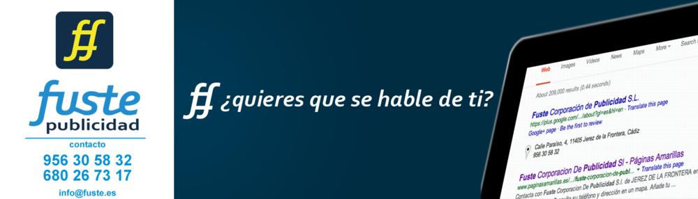 Fuste Publicidad SEO Jerez