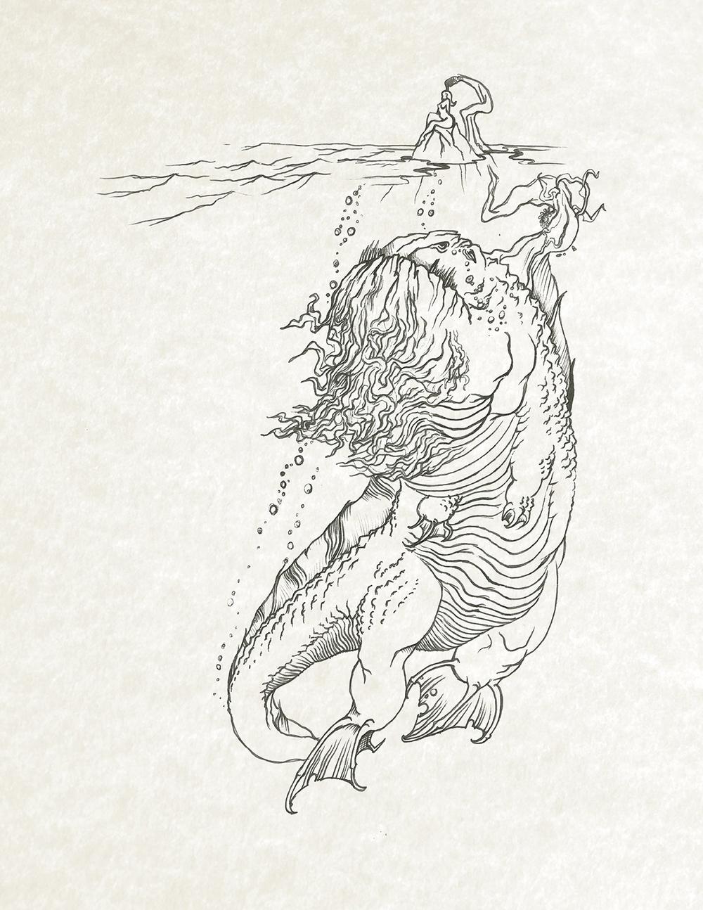 Angler Dragon Early Concept