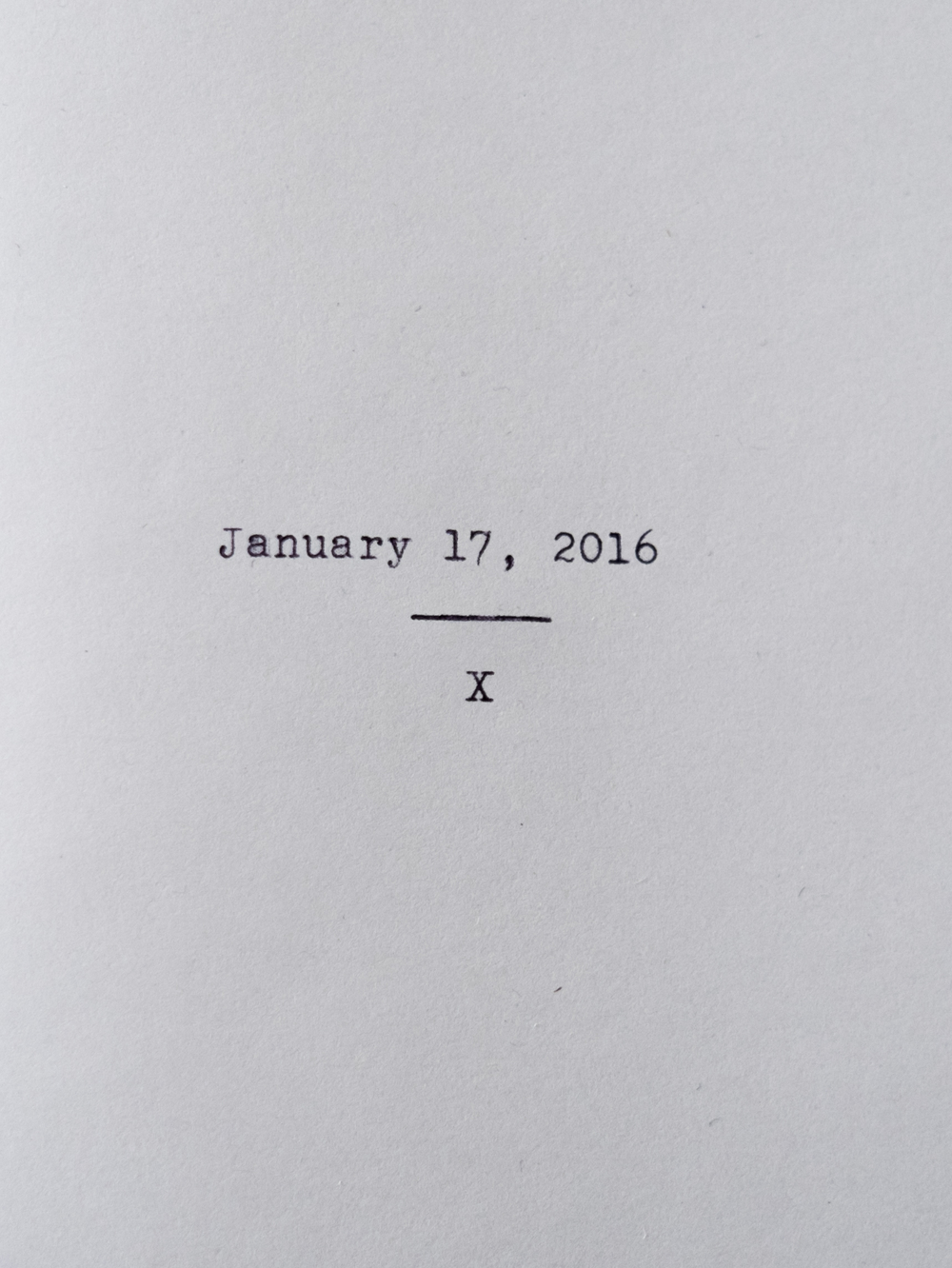 Zine No. 3: January 17, 2016  Read Here